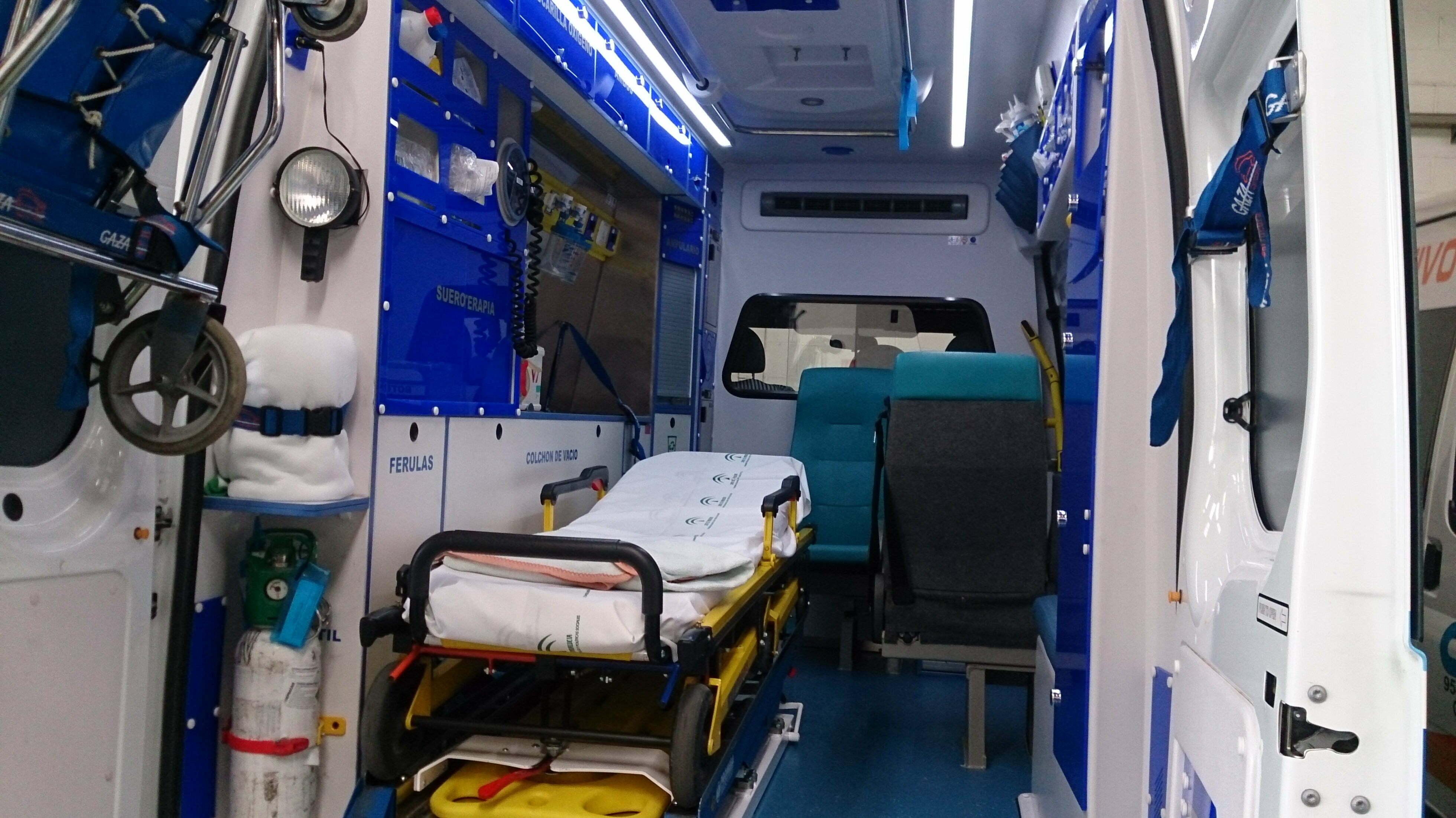 Traslado de pacientes en ambulancia Granada y provincia