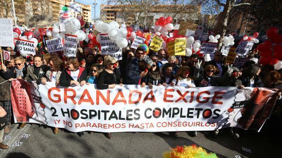 granada consigue sus dos hospitales completos