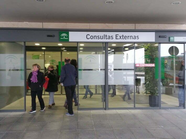 Modelo hospitalario en Granada ambulancias Los Carmenes