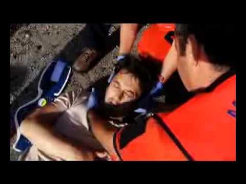 ambulancias en granada. Inmobilización cervical