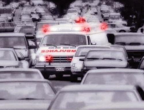 Sonido de ambulancia. Como debemos actuar