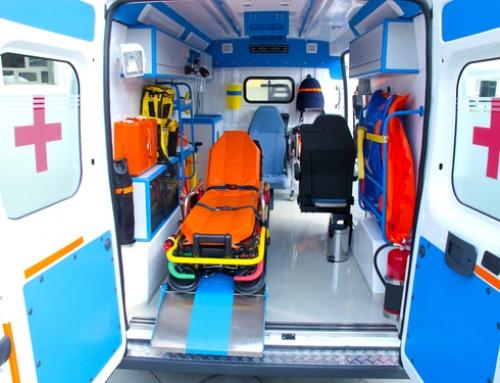 Ambulancias en espectáculos públicos.