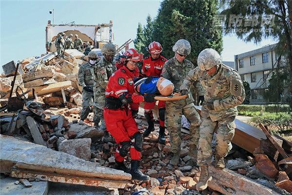 rescate en desastres Granada