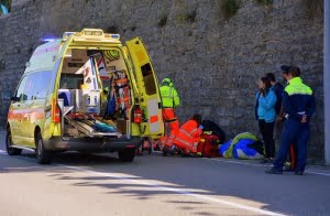 ambulancia por dentro granada