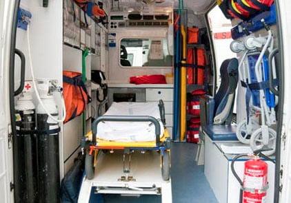 Ambulancias de soporte vital avanzado Granada