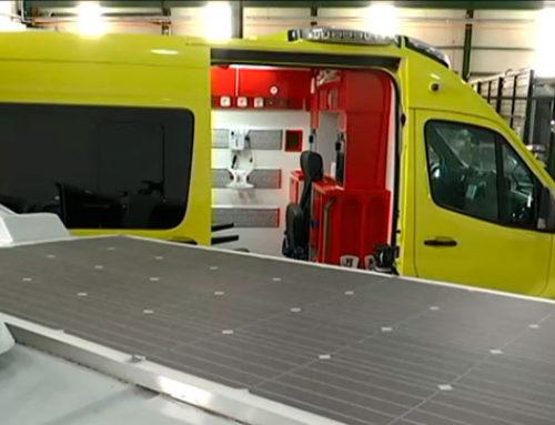 Primera ambulancia eléctrica Europa