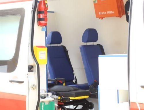 Inmovilización en ambulancia